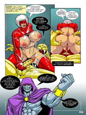8muses Porncomics MonsterBabeCentral- Omega Fighters 11-12 image 10