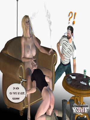 8muses Y3DF Comics Mother's revenge- Y3DF image 39