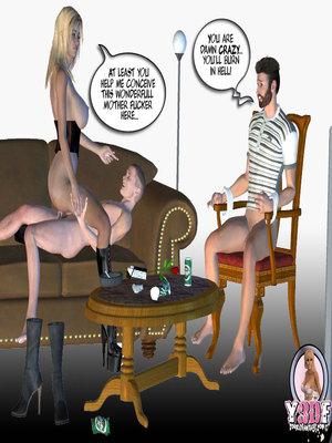 8muses Y3DF Comics Mother's revenge- Y3DF image 64