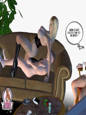 8muses Y3DF Comics Mother's revenge- Y3DF image 70