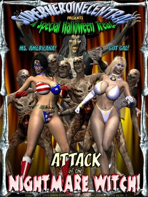 Ms Americana and Got Gal- Nightmare Witch 8muses 3D Porn Comics