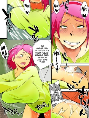 8muses Hentai-Manga Naruto- Kage Hinata ni Sakura Saku image 08