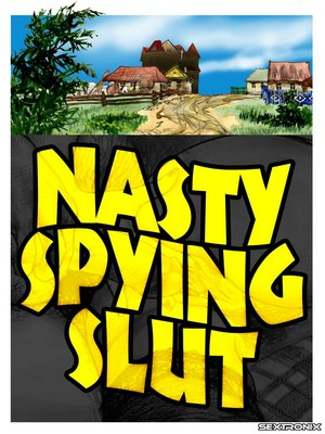 Nasty Spying Slut -Sextronix 8muses Adult Comics