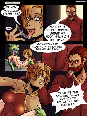 8muses Adult Comics Nearphotison- Eromugen 1 image 13