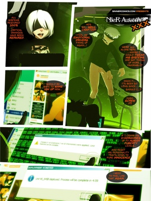 NieR- Automata XXX (Sillygirl) 8muses Cartoon Comics