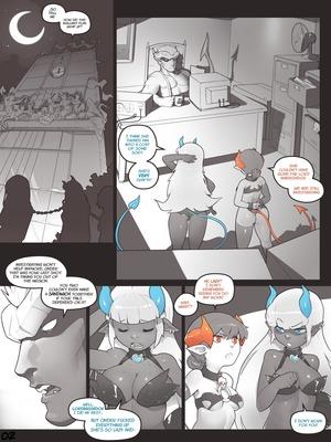 8muses Adult Comics Norasuko- Locking Horns image 02