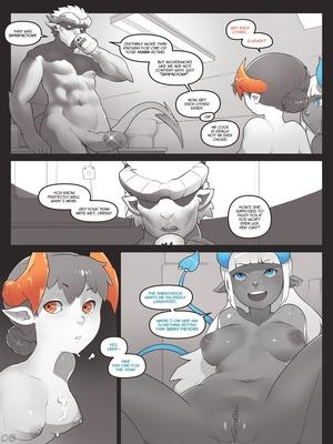 8muses Adult Comics Norasuko- Locking Horns image 08