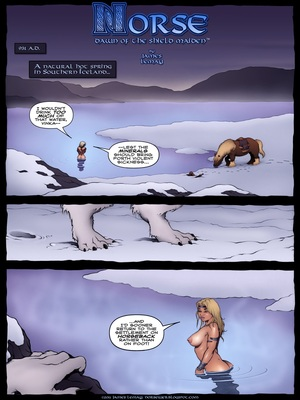 Norse- Dawn of The Shield Maiden,James Lemay 8muses Porncomics
