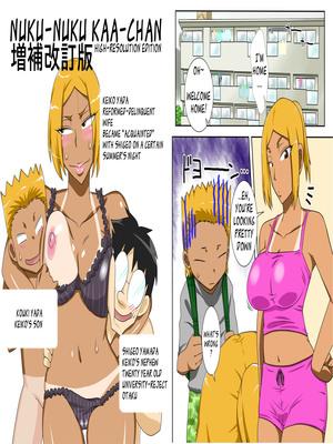 NukuNuku Kaachan 3- Freehand Tamashii 8muses Hentai-Manga