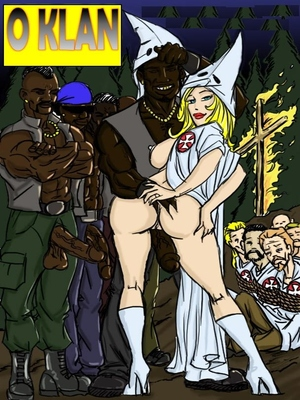 O Klan Fuck- illustrated interracial 8muses Interracial Comics
