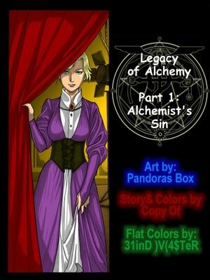 Pandora Box- Legacy of Alchemy 8muses Incest Comics