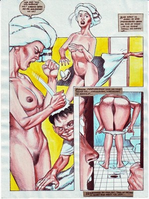 PBX Oldie Cum- Mom in Bedroom 8muses Incest Comics