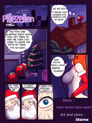 Pillezellen- Does Santa Claus Exist ? 8muses Adult Comics