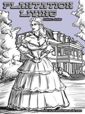 8muses Interracial Comics Plantation Living- illustrated interracial image 01