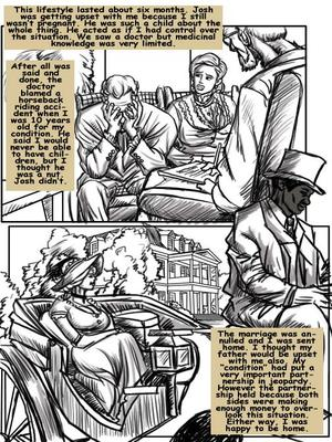8muses Interracial Comics Plantation Living- illustrated interracial image 09