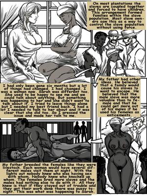 8muses Interracial Comics Plantation Living- illustrated interracial image 10