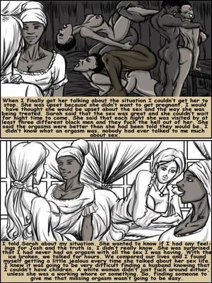 8muses Interracial Comics Plantation Living- illustrated interracial image 11
