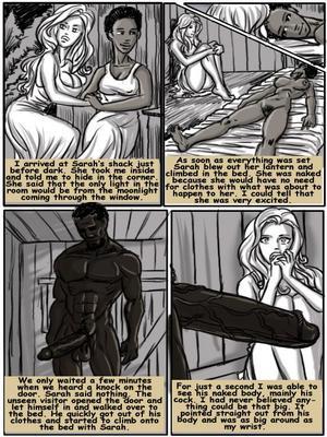8muses Interracial Comics Plantation Living- illustrated interracial image 14