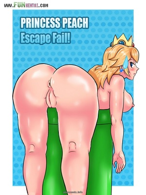 Princess Peach Escape Fail- Super Mario 8muses Adult Comics