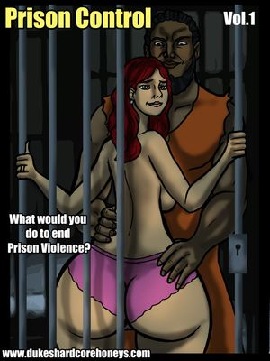 Prison Control 01- Duke Honey 8muses Interracial Comics
