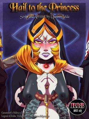 Queen Zelda- Hail to Princess 8muses Adult Comics