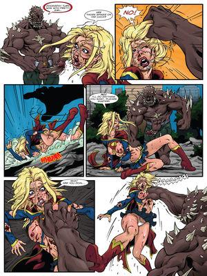 [R-EX] Supergirl's Last Stand (Superman) 8muses Porncomics
