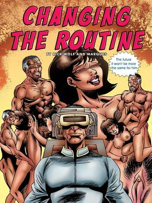 Rick Wolf- Changing the Routine 8muses Porncomics