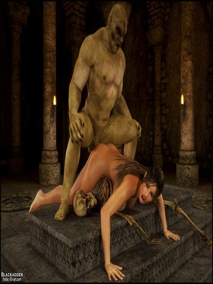 8muses 3D Porn Comics Rise Of the Guardians- Blackadder image 37