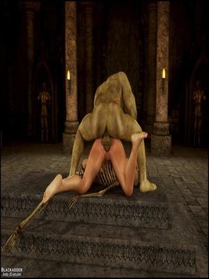 8muses 3D Porn Comics Rise Of the Guardians- Blackadder image 39