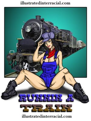 Runin A Train 1- illustrated interracial 8muses Interracial Comics