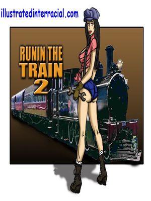Runin A Train 2- illustrated interracial 8muses Interracial Comics