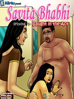 Savita Bhabhi 73- Caught in the Act 8muses Adult Comics