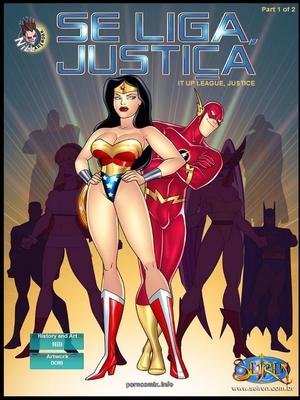 Se Liga Justica- It Up League, Justice 1- Seiren 8muses Porncomics