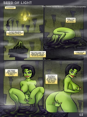 8muses Adult Comics Seed Of Light- Samurai Jack Parody image 03