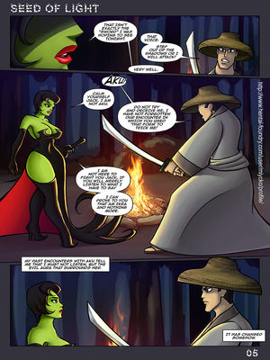 8muses Adult Comics Seed Of Light- Samurai Jack Parody image 06