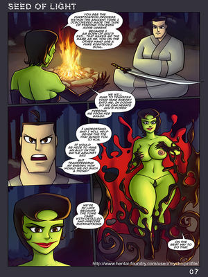 8muses Adult Comics Seed Of Light- Samurai Jack Parody image 08