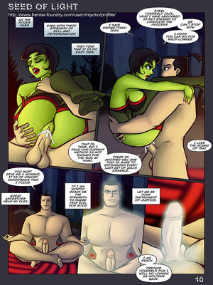 8muses Adult Comics Seed Of Light- Samurai Jack Parody image 11