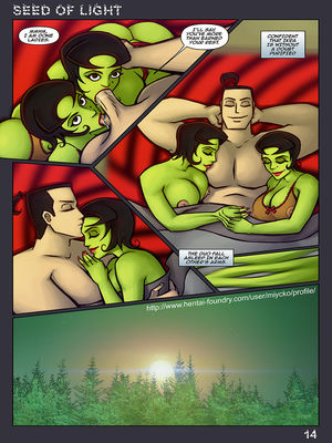8muses Adult Comics Seed Of Light- Samurai Jack Parody image 15