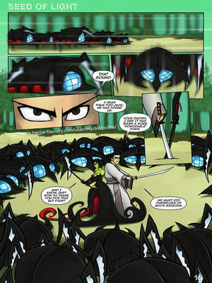 8muses Adult Comics Seed Of Light- Samurai Jack Parody image 16
