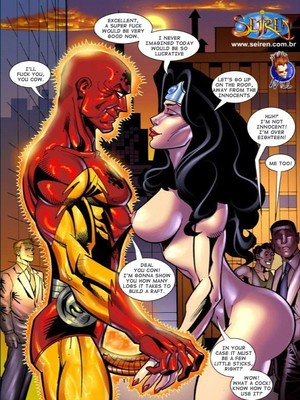8muses Porncomics Seiren -Super Naked Women,Mulher Pelada image 07