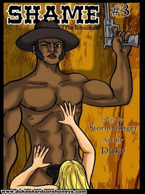 Shame 03- Duke Honey 8muses Interracial Comics
