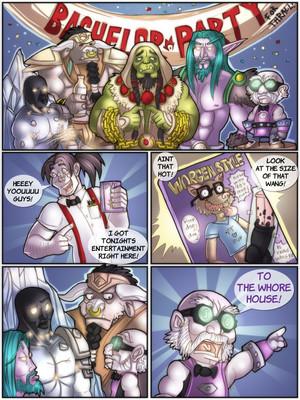 Shia- A Warcraftian Bachelor Party 8muses Furry Comics