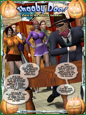 Shooby Doo-Case of the Goulish Gambler 8muses 3D Porn Comics