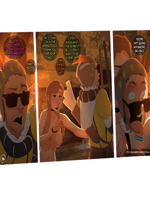 8muses Adult Comics Sillygirl- Elsas Dungeon Part 3 image 07