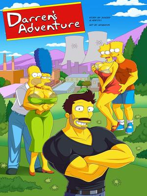 Simpsons – Darren's Adventure 8muses Incest Comics