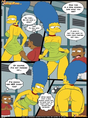 8muses Adult Comics Simpsons Love for Bully – Simpsons image 06