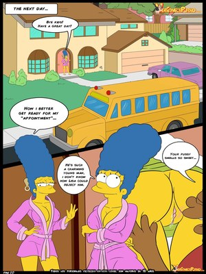 8muses Adult Comics Simpsons Love for Bully – Simpsons image 11