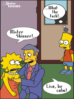 8muses Adult Comics Simpsons- Skinner Great Seducer image 03