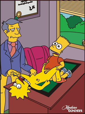 8muses Adult Comics Simpsons- Skinner Great Seducer image 06