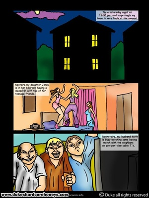 8muses Interracial Comics Sleepover- My son's black friend 1 image 02